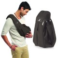 the-baba-sling-backpack baby carrier babasling lite charcoal grey summer